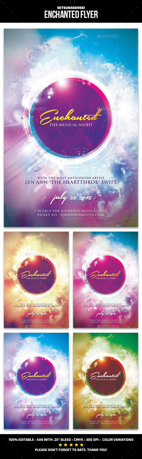 Enchanted Flyer - Concerts Events