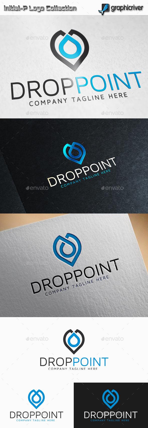Drop Point Logo - Abstract Logo Templates