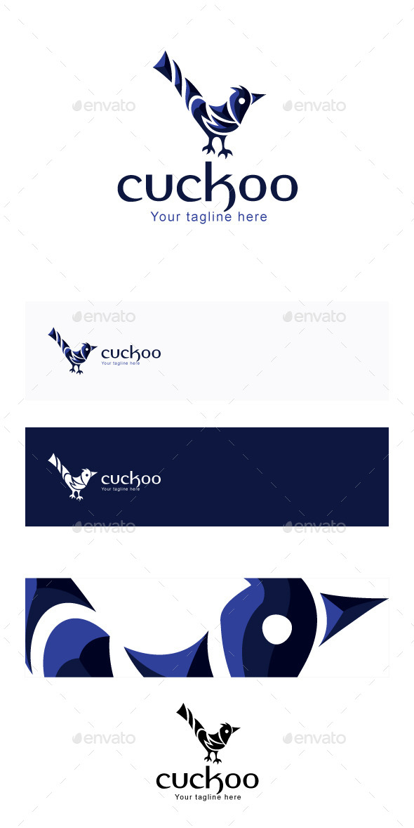 Cuckoo Stock Logo Template - Animals Logo Templates