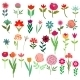 Flowers Set - GraphicRiver Item for Sale