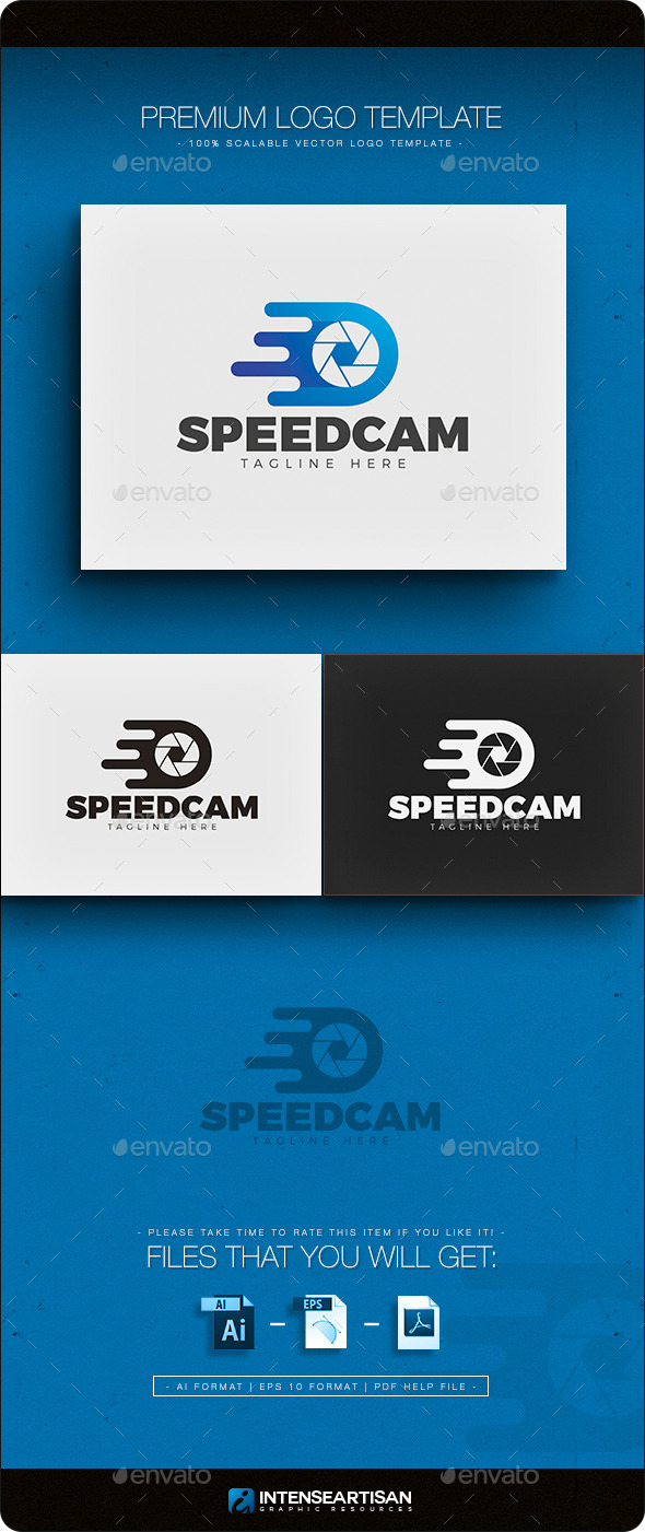 Speed Cam Logo - Objects Logo Templates