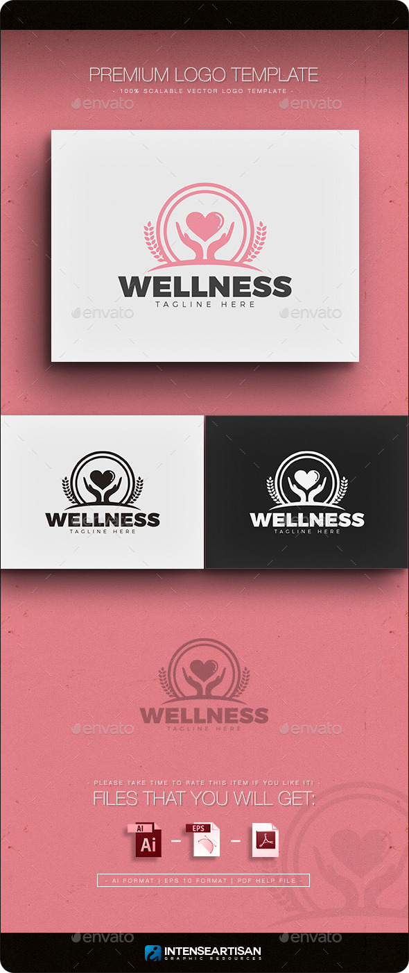 Wellness Logo - Objects Logo Templates
