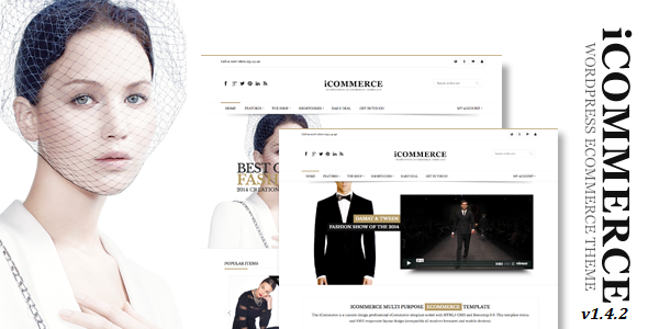 iCommerce – Multi-Purpose WooCommerce Theme