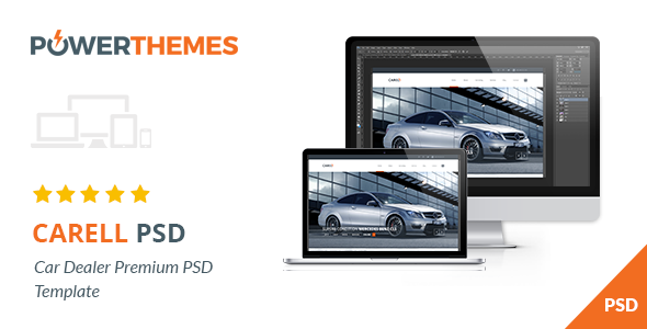 Carell – Premium Car Dealership PSD Template