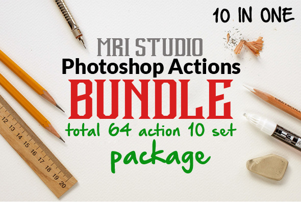 Photoshop Action Bundle - Photo Effects Actions