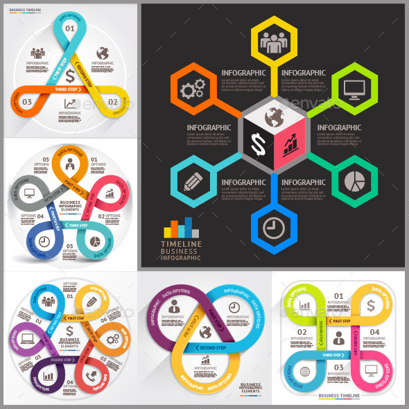 Business Infographic Template. - Infographics