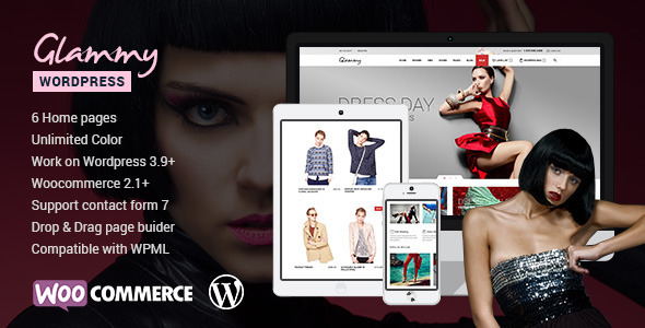Glammy – eCommerce WordPress Theme