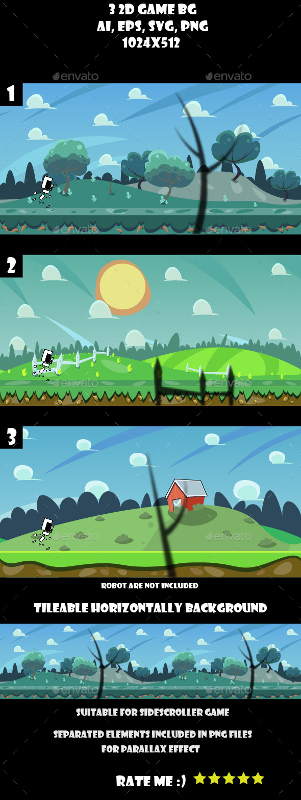 3 game background - Backgrounds Game Assets
