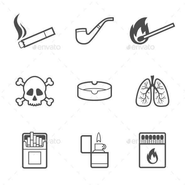 Smoking Elements - Miscellaneous Conceptual