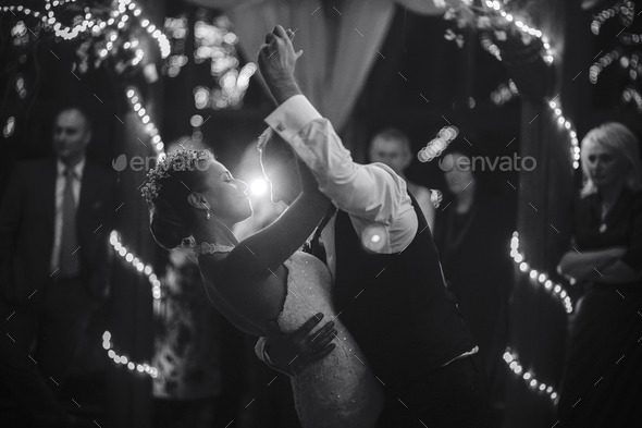wedding dance - Stock Photo - Images