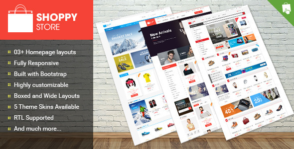 Shoppy Store – Responsive Prestashop Theme