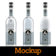 Vodka Bottle Mockup Vol. 4 - GraphicRiver Item for Sale
