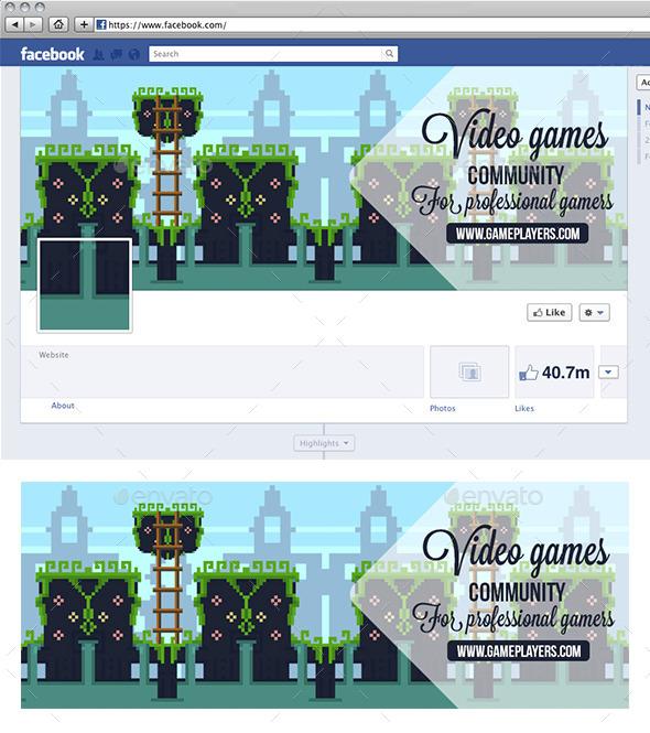 Video Game Facebook Timeline - Facebook Timeline Covers Social Media