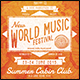 World Music Fest Flyer/Poster - GraphicRiver Item for Sale
