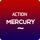Mercury Red & Blue Action - GraphicRiver Item for Sale