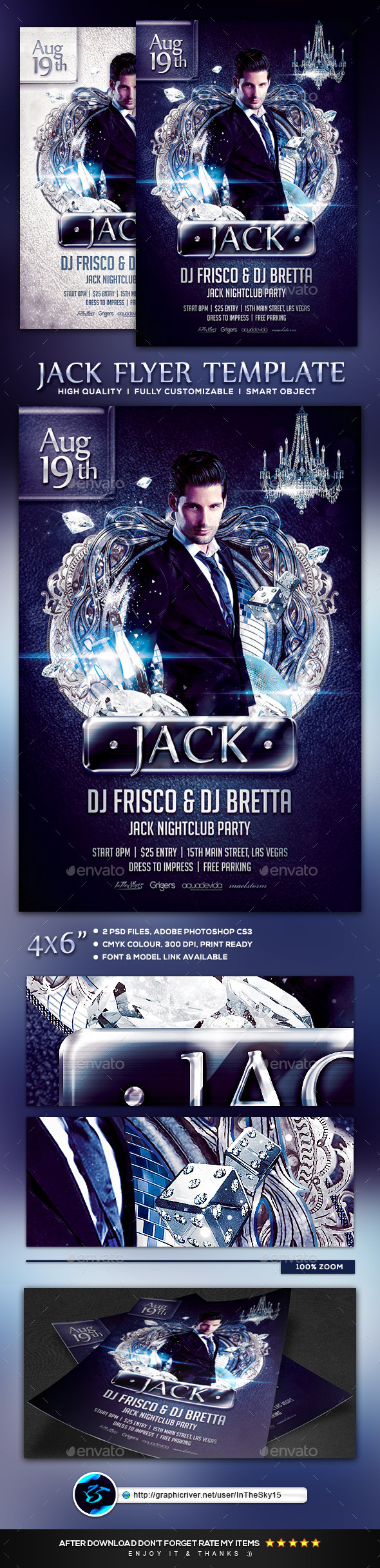 Jack Flyer Template - Flyers Print Templates