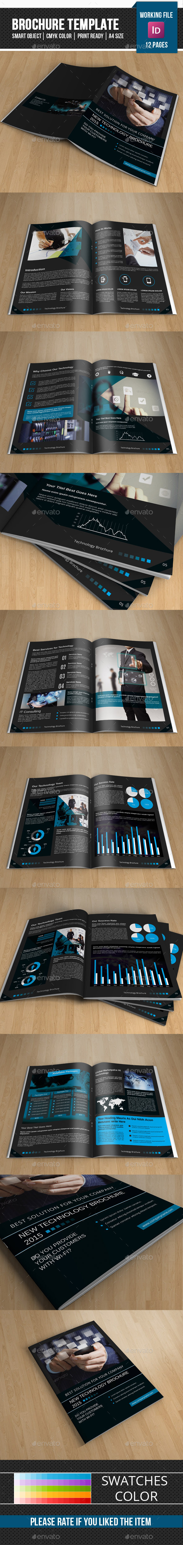 Technology Brochure Template-V265 - Corporate Brochures