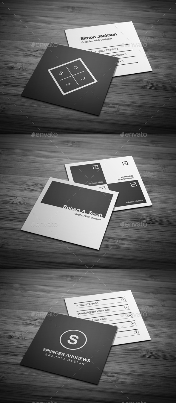 Business Cards Bundle #11 - Business Cards Print Templates