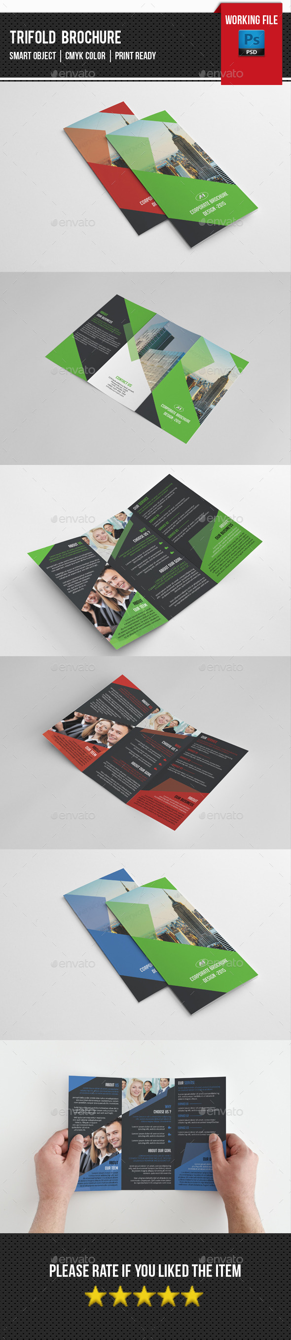 Corporate Trifold Brochure-V236 - Corporate Brochures