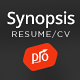 Synopsis - Resume/CV and Portfolio Theme Nulled