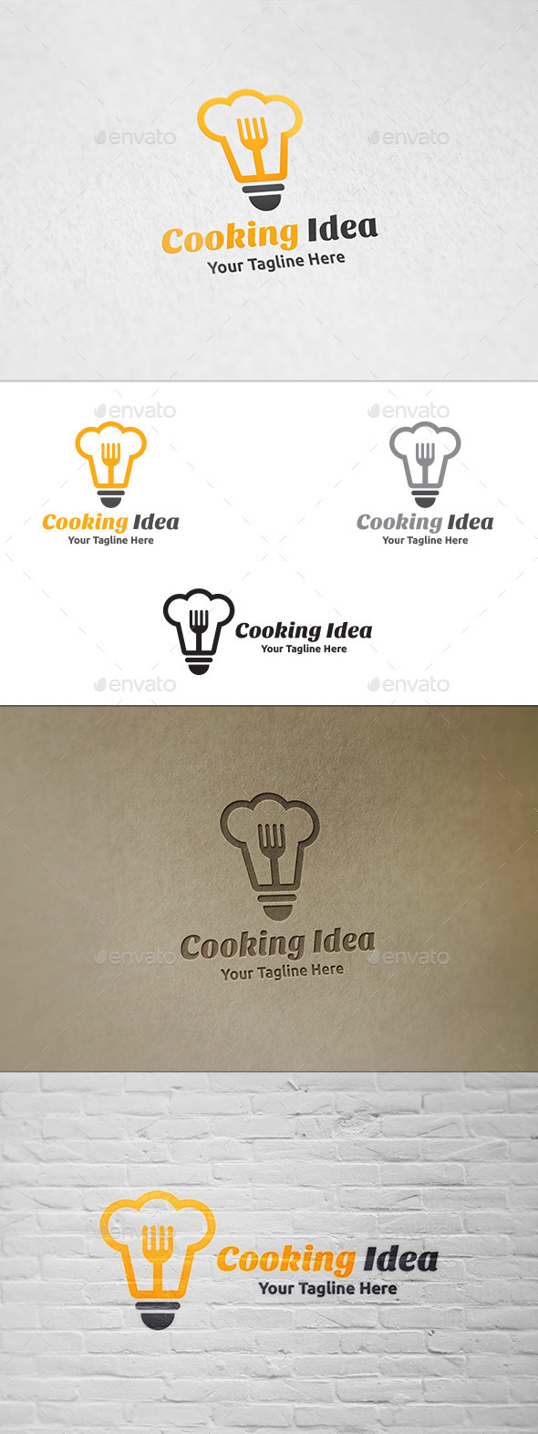 Cooking Idea - Logo Template  - Objects Logo Templates