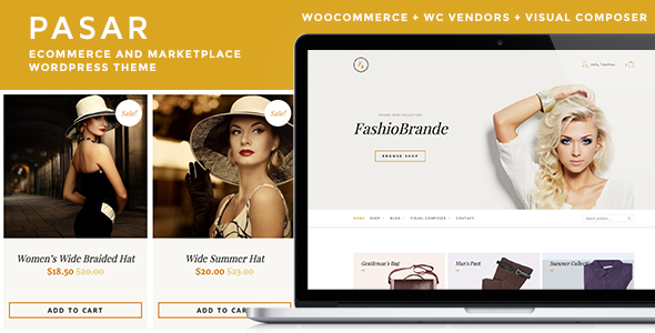 Pasar – eCommerce and Marketplace WordPress Theme