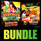 Reggae vs Soca Party Flyer Bundle - GraphicRiver Item for Sale
