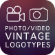 Videography and Photography — Vintage Logotypes - GraphicRiver Item for Sale