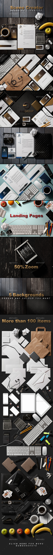 Branding / Identity Scene Creator - Hero Images Graphics
