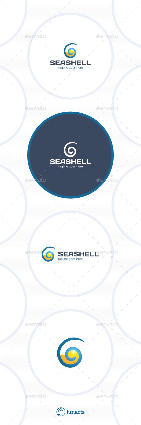 Sea Shell Logo - Travel - Nature Logo Templates