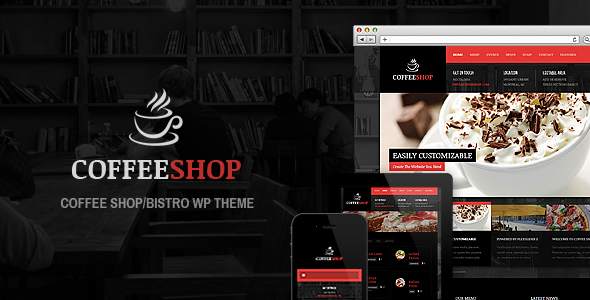 Coffee Shop – Responsive WP Theme For Restaurant