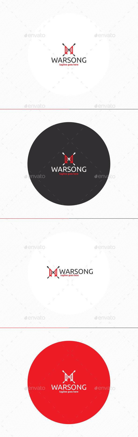 Warsong Logo - Symbols Logo Templates