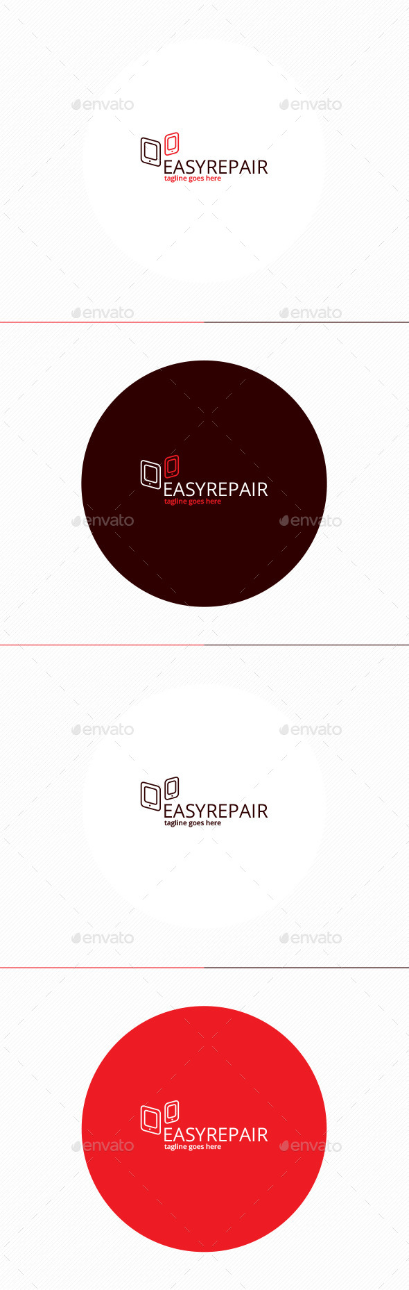 Easy Repair Logo - Objects Logo Templates