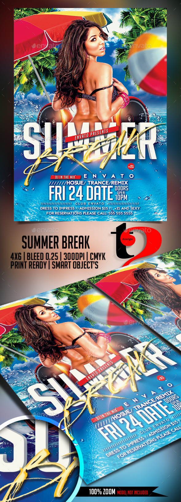 Summer Break - Beach Party - Clubs & Parties Events