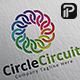 Circle CircuitLogo - GraphicRiver Item for Sale