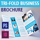 Tri-Fold Business Brochure - GraphicRiver Item for Sale