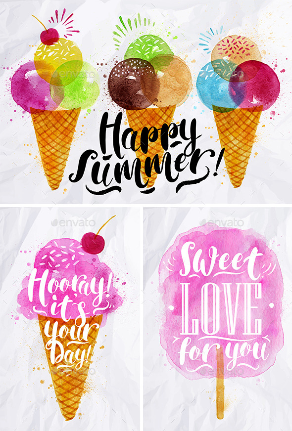 Summer Sweets - Food Objects