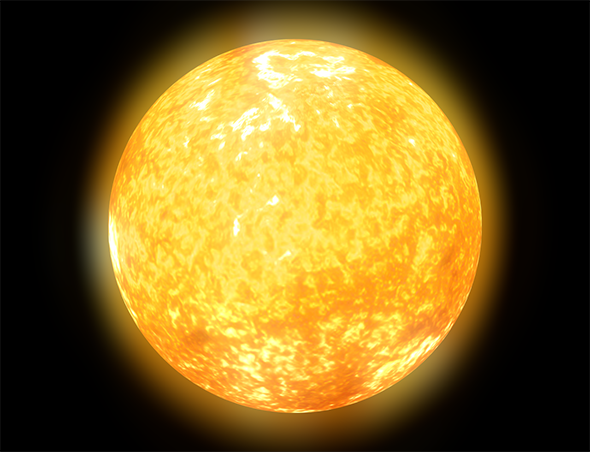 Sun - 3DOcean Item for Sale