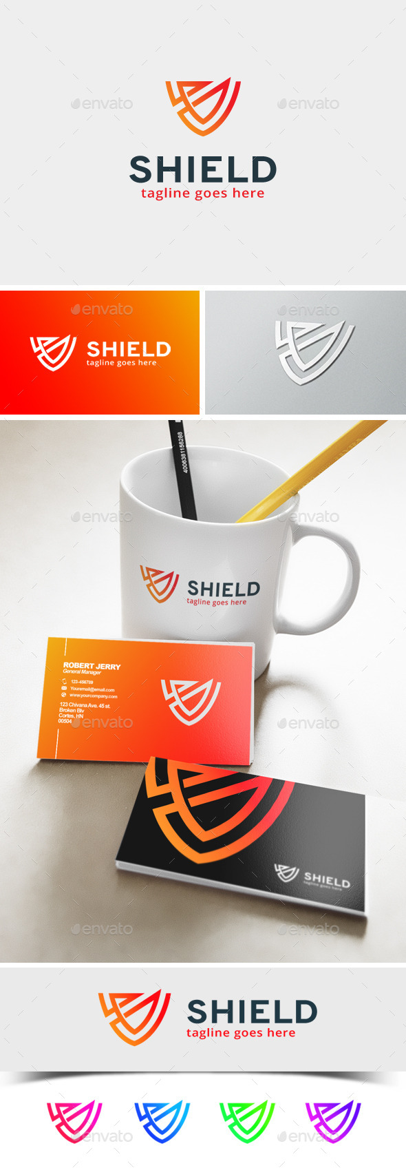Shield Logo - Abstract Logo Templates