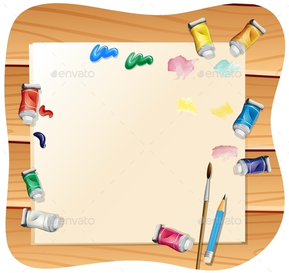 Painting - Backgrounds Business
