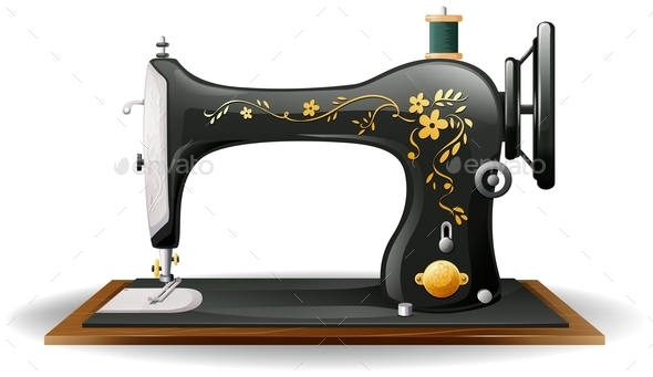 Sewing Machine - Miscellaneous Conceptual