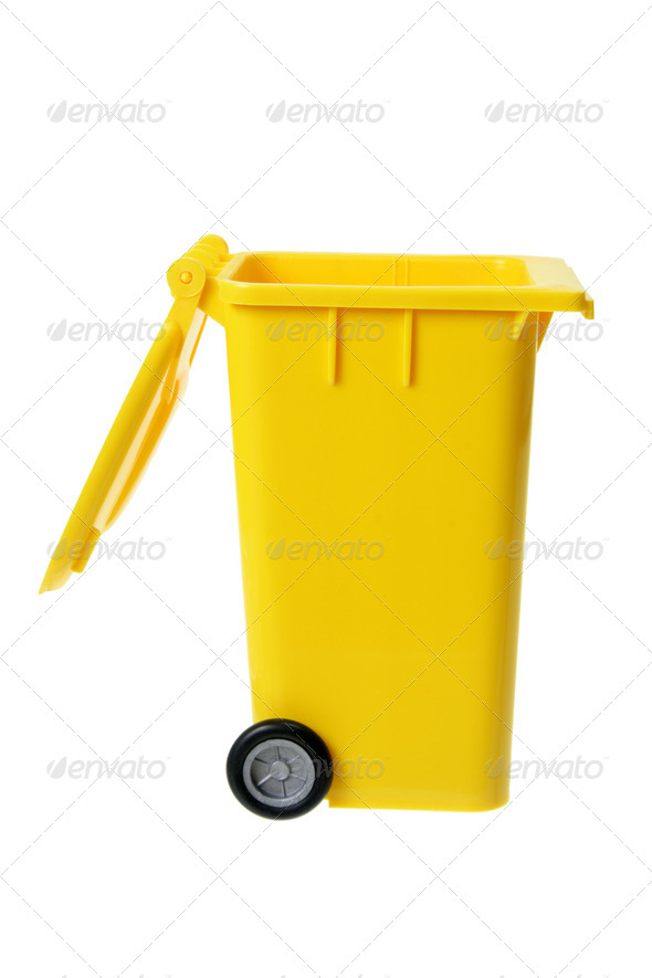Garbage Bin - Stock Photo - Images