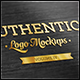 Authentic Logo Mockups Vol. 4 - GraphicRiver Item for Sale