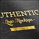 Authentic Logo Mockups Vol. 4 - GraphicRiver Item for Sale