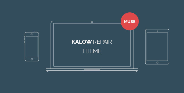 Kalow Repair – Muse Template