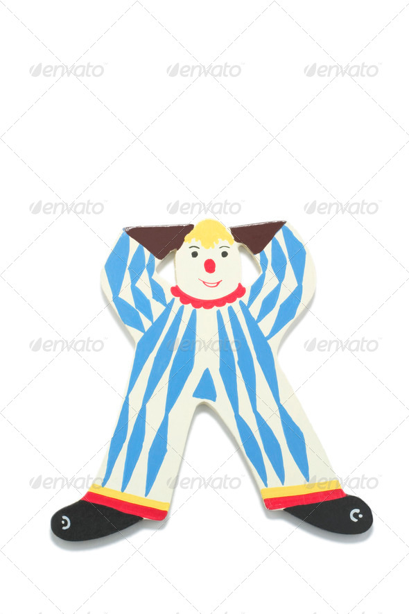 Clown Figure - Stock Photo - Images