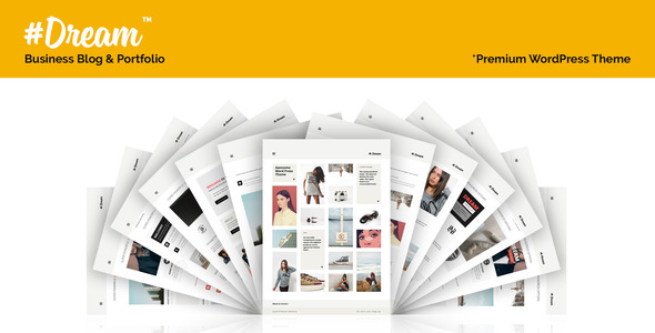 Dream – Business, Blog & Portfolio Theme