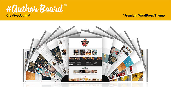 Author Board – Responsive WordPress Theme