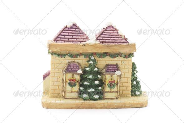 Christmas Figurine - Stock Photo - Images