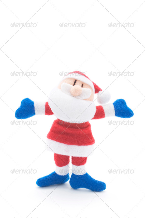 Santa Figure - Stock Photo - Images